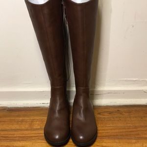 Universal thread leather boots 6wc